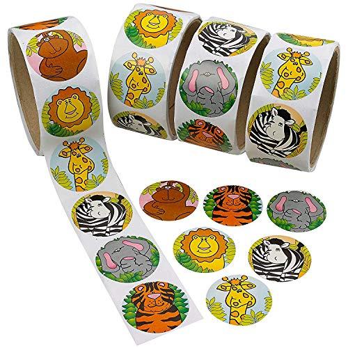 Howaf 300 Piezas Animales Pegatinas para niños, Pegatinas Infantiles Recompensa para piñata...