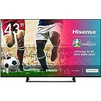 Hisense 43AE7200F 108 cm (43 Zoll) Fernseher (4K Ultra HD, HDR, Triple Tuner DVB-C/S/S2/T/T2, Smart TV, Mittelstandfuß…