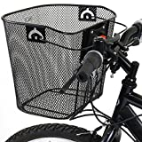 PedalPro Metal Mesh Quick Release Bicycle Basket