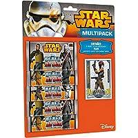 Topps TO01045-DE - Trading Card Game - Star Wars Rebel Attax Multipack, 5 de refuerzo, alemán