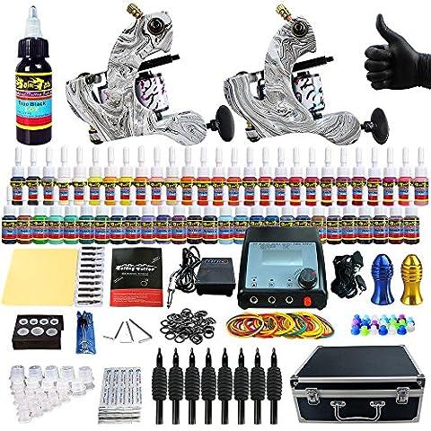 Solong Tattoo® kit machine tatouage encre a tatouer TK259