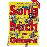 Peter bursch 's Song libro para guitarra 1-Sobre la Colección de banda de rock de y Pop Canciones, que Sean fáciles de juegos y a Canta-con CD y Bunter herzförmiger Ordenador Pinza