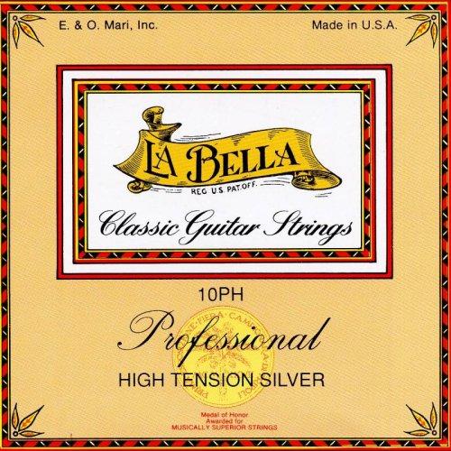 La Bella 10PH Konzertgitarre Hard Tension Saiten-Set