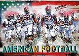 American Football extrem (Wandkalender 2020 DIN A2 quer): American Football, Teamsport der Extra-Klasse - beispiellose Kombination von körperlicher Kraft und Taktik. (Monatskalender, 14 Seiten )