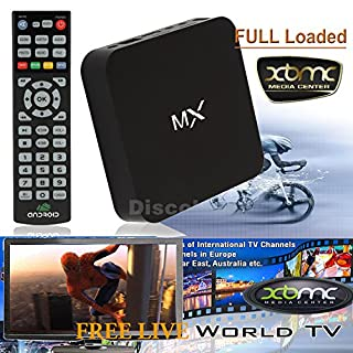 Discoball® XBMC Android 4 2 Smart TV Box Dual Core CPU Jelly