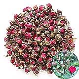 TooGet Les bourgeons Roses Rouges Profonds naturels parfumés de Rose de pétales de Rose Organique Ont séché des Fleurs en Gros, catégorie Comestible culinaire - 115g
