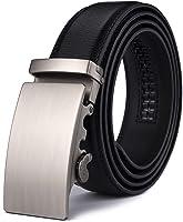 Xhtang Gürtel Herren Automatik Gürtel mit Automatikschließe-3,5cm Breite