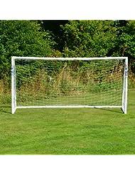 wetterfestes FORZA Match Fußballtor - 3,7 x 1,8 m, 1 Jahr Garantie [Net World Sports]
