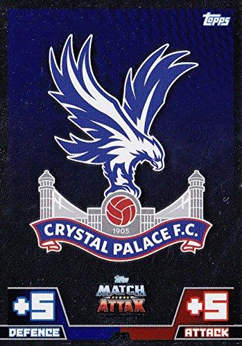 Match Attax 2014 2015 Crystal Palace Club Badge 14 15