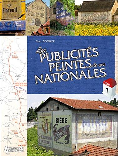 Les Publicites Peintes de nos Nationales por Marc Combier