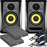 Best KRK Studio Monitors - KRK Rokit RP4 G3 Active Studio Monitors Kit Review