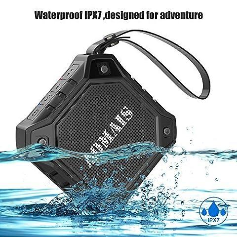Wireless Bluetooth Lautsprecher, AOMAIS OUTDOOR Tragbarer Kablellose Wasserdichter IPX7 Bluetooth