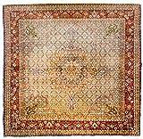 Morgenland Teppiche 243 x 248 cm Orientteppich Beige Quadratisch Handgeknüpft