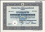Aktie Daimler Benz AG