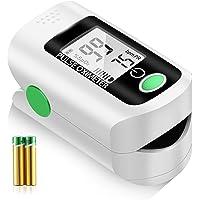 Ossimetro, pulsossimetro da dito, saturazione di ossigeno nel sangue, frequenza del polso e monitor del livello SpO2…