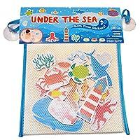 Barney & Buddy BA051 Bath Stickers-Under the Sea Childs Toy, Multi-Colour