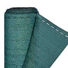 Relaxdays, Green Fence, Privacy Shield For Fences & Railing, HDPE Net, UV-resistant, Weatherproof, 1.8 x 6 m, 1,8 x 6 Meter