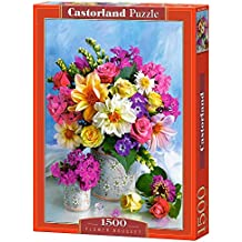 Castorland Flower bouquet 1500 pcs 1500pc(s) - Puzzles (Jigsaw puzzle, Flora, Children & Adults, 9 year(s), Boy/Girl, Indoor)