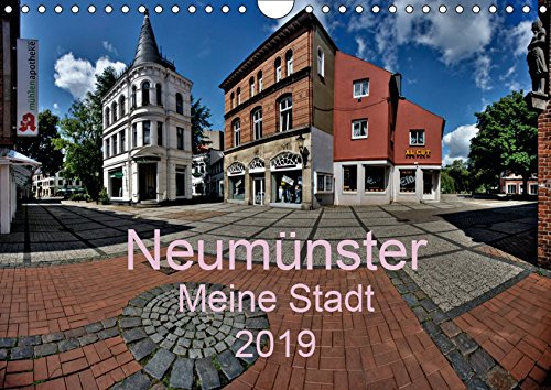 Neumünster - Meine Stadt (Wandkalender 2019 DIN A4 quer): Panoramabilder von der Stadt an der Schwale (Monatskalender, 14 Seiten ) (CALVENDO Orte)