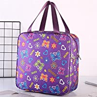 - - - WWUUOOPRT Sac de Pique-Nique Lunch Box Sac Isolation Sac Sac à Main Sacs à Main Imperméables (Violet) 75a217