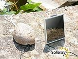 Primrose Solar-Teichbelüfter mit Camouflage-Stein