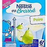 NESTLE P'tit Brassé Poire - 8 x 100g