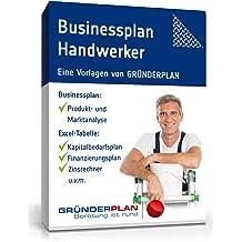 Businessplan Handwerker ohne Meisterbrief von Gründerplan [Zip Ordner]