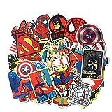 Amasawa Aufkleber Pack 50 Stücks,wasserdicht Aufkleber Karikaturanimationsreihe für Laptop, Kinder, Autos, Motorrad, Fahrrad, Skateboard Gepäck, Bumper Sticker.
