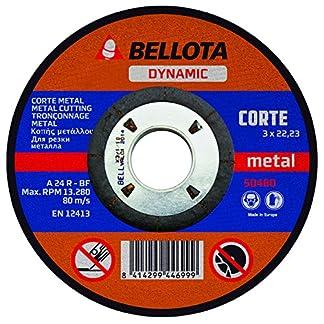 Bellota 50480-125 Disco ABRASIVO Dynamic Corte Metal 125MM
