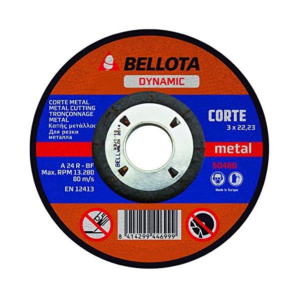 Bellota 50480-115 – DISCO ABR. DYN. C. METAL 115