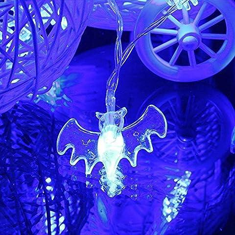 Stillshine - 2M 20 LED String Lights Party Halloween Christmas, Bar, Club, Indoor Dekoration (Batteriebetriebene Globe-leuchten)