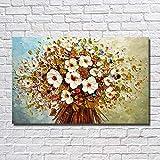 KAISH Gemälde Mode 100% Handgemachte Abstrakte Blumen Ölgemälde Auf Leinwand Bilder Wandbild Bild Zimmer Wohnkultur Kein Rahmen 40X60 cm