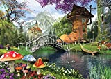Heidi heidi4467die Old Schuh-Haus Art Puzzle (1000Teile)