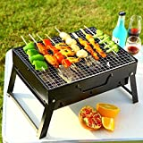 Tragbare Mini Falten Dicken, Holzkohle Grill BBQ Party Hot  HNAA