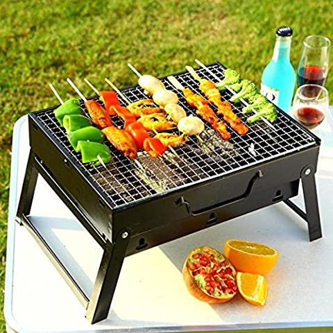 Tragbare Mini Falten Dicken, Holzkohle Grill BBQ Party Hot
