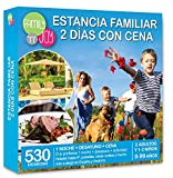 Cofre DE EXPERIENCIAS Estancia Familiar 2 DÍAS con Cena - Más de 530 estancias Familiares con Cena a Escoger