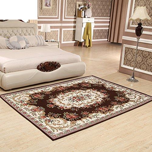 Tappeti tavolino salotto in Jacquard stile moda semplice e moderno e casa broadloom antiscivolo resistente/Coperta (Tappeti America Del Blocco)