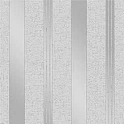 Fine Décor FD41967 - Papel pintado con rayas de cuarzo, color plateado