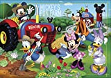 Clementoni 27859.6 - Puzzle Mickey Mouse Club House: Mickey's Fun Farm, 104 Teile