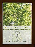 # das Original nur bei rs-interhandel / shop-wandtattoo # GD600 Kinderzimmer Fenster Glasdekor Aufkleber Fensterfolie ca. 50cm hoch Breite nach Wahl, Sichtschutzfolie Glastür Fenster (Höhe ca. 50cm x Breite ca. 70cm)