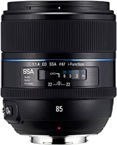 Samsung Nx 85 Mm F 1 4 Kamera Fixiertes Objektiv Kamera