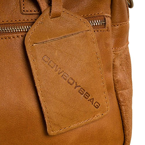 Cowboysbag The Little Bag, Sacs portés main Mixte adulte Marron - Tobacco
