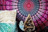 Naledi quadratisch Mandala Tapisserie Bohemian Beach, Psychedelic Art Wand, Wohnheim Dekor Strand Werfen, indischen Wall Wandteppiche Kunst zum Aufhängen, Yoga Mat, Picknick, Tisch Überwurf, violett