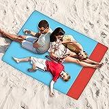 Picknickdecke , Guaiboshi Aufrollbare Faltbare Picknickmatte Picknick-Decke Wasserabweisender Außendecke Campingdecke 200 x 140cm für Garten Ausflüg Stranddecke Urlaub Baby