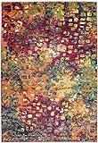 Asiatic Teppich Wohnzimmer Carpet modernes Design Colores Wind Rug 100% Heatset Polypropylen 200x300 cm Rechteckig Mehrfarbig | Teppiche günstig online kaufen