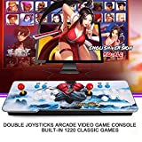 Goolsky Pandoras Box 5S Machine de Jeu vidéo Arcade Double Joystick Arcade avec 1220 Jeux Classiques à l'intérieur
