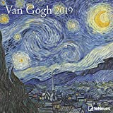 Van Gogh 2019 - Kunstkalender 2019, Wandkalender, Broschürenkalender, Post-Impressionismus - 30 x 30 cm