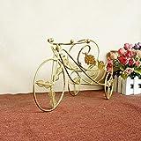 Wkaijc2pcs Radsport-Liebhaber Die Drei Räder Einfachheit Persönlichkeit Mode Kreativ Ornamente Weinregal,Copper