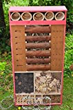 Insect Hotel, Weatherproof, 48-Inch Tall, XXL,,...