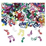 Big Party DECORAZIONI Tavolo Confetti Forma Note Musicali 14 g Coriandoli in Plastica Addobbi Tavola